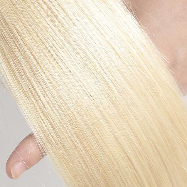 Sulmy 1 Bundle Straight #613 Blonde Brazilian Human Hair Weave 613 blonde hair weave SULMY
