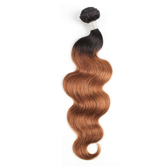 Sulmy 1 Bundle 1b/#30 Two Tone Colored body wave Ombre Brazilian Human Hair Weave ombre hair weave SULMY