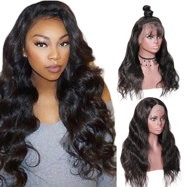 13x6 Lace Front Wigs Pre Plucked Human Hair Wigs Lace Front 180% Density -Body Wave -SULMY