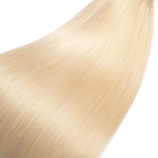 Blonde Human Braiding Hair 613 Light Blonde Bulk Human Hair No Weft 300g