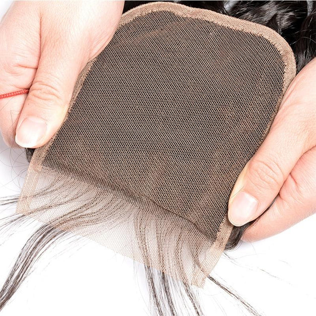 Bundles with Closure Water Wave Brazilian Virgin Human Hair Weave Bundles 3+1.