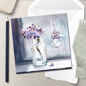 Spring Drizzle - Greeting Card