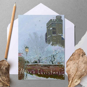 Snow in Twickenham - Christmas Greeting card
