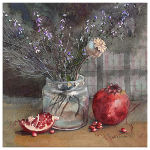 Pomegranate, Heather and a Bit of Love