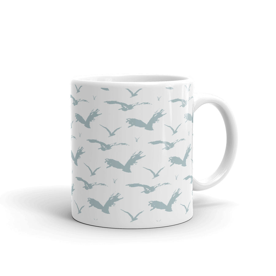 Blue Birds Custom Printed Mug