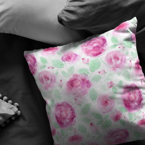 Faded Roses pillow