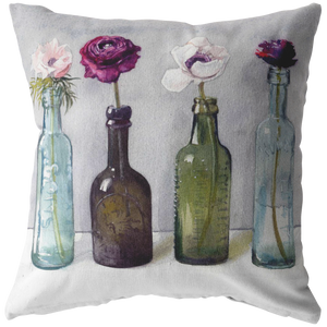 Flower Parade Pillow
