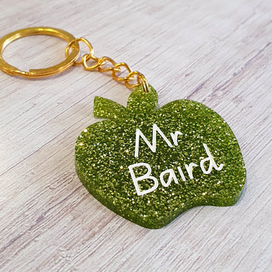 An Apple A Day - Keyring