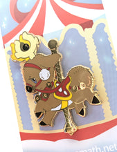 Load image into Gallery viewer, Carousel Stantler Enamel Pin
