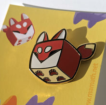 Load image into Gallery viewer, Boxfox Enamel Pin
