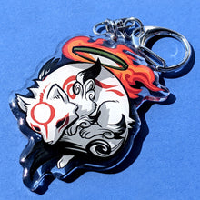 Load image into Gallery viewer, Amaterasu Double Sided Acrylic Charm