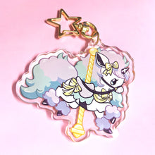 Load image into Gallery viewer, CAROUSEL Galarian PONYTA Acrylic Keychain Charm