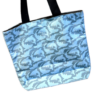 Sharkparty Tote Bag