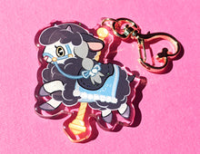 Load image into Gallery viewer, Carousel Wooloo Acrylic Keychain Charm