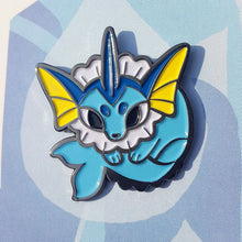 Load image into Gallery viewer, Vaporeon Enamel Pin