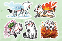 Load image into Gallery viewer, Okami-den Vinyl Sticker Sheet