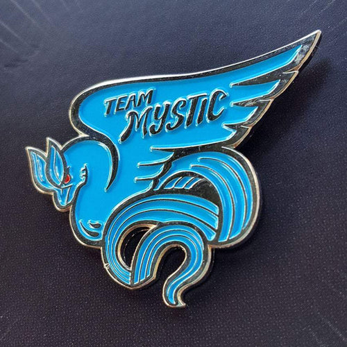 Team Mystic Pokemon Go Enamel Pin