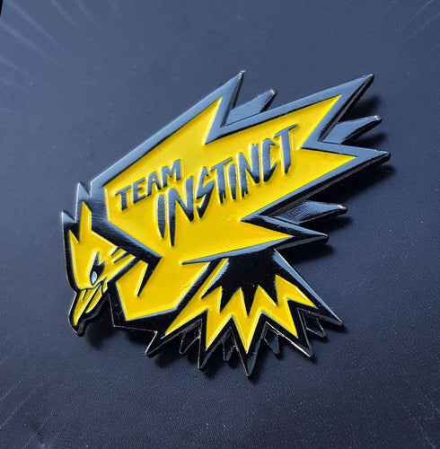 Team Instinct Pokemon Go Enamel Pin
