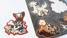 Load image into Gallery viewer, Pokepups Vinyl Sticker Sheet