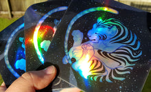 Load image into Gallery viewer, GALACTIGRE Holo Vinyl Sticker