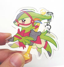 Load image into Gallery viewer, Carousel Virizion Keyring Acrylic Charm