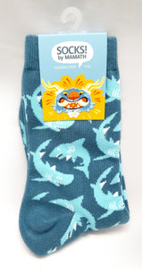 Sharkparty Shark Socks!