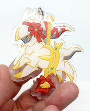 Load image into Gallery viewer, Carousel Arceus Acrylic Keychain Charm