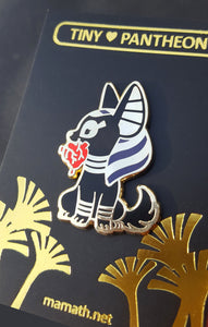 Anubis Enamel Pin (Tiny Pantheon 2018)
