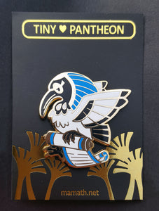 Thoth Enamel PIn (Tiny Pantheon 2018)
