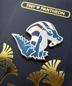 Sobek Enamel Pin (Tiny Pantheon 2018)