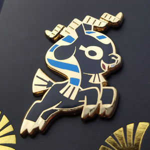 Khnum Enamel Pin (Tiny Pantheon 2018)
