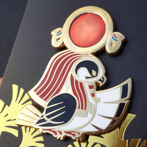 Ra Enamel Pin (Tiny Pantheon 2018)