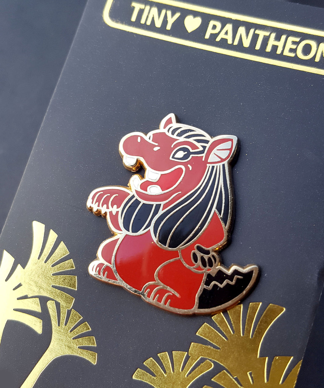 Taweret Enamel Pin (Tiny Pantheon 2018)