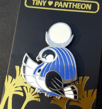Load image into Gallery viewer, Khonsu Enamel Pin (Tiny Pantheon 2018)