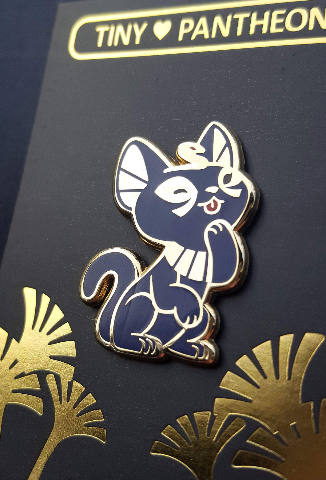 Bastet Enamel Pin (Tiny Pantheon 2018)