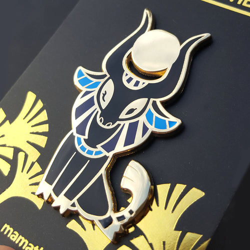 Hathor Enamel Pin (Tiny Pantheon 2018)
