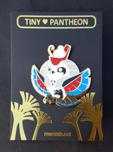 Load image into Gallery viewer, Horus Enamel Pin (Tiny Pantheon 2018)