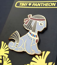 Load image into Gallery viewer, Sphinx Enamel Pin (Tiny Pantheon 2018)