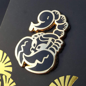 Serqet Enamel Pin (Tiny Pantheon 2018)