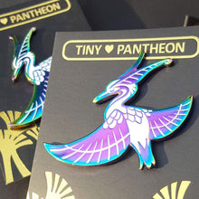 Load image into Gallery viewer, Bennu Enamel Pin (Tiny Pantheon 2018)