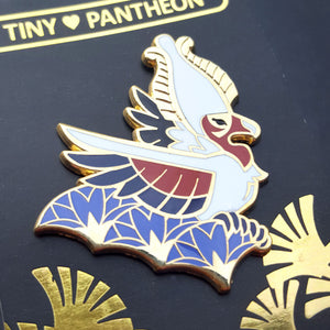 Nekhbet Enamel Pin (Tiny Pantheon 2018)