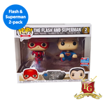 THE FLASH & SUPERMAN 2-PACK POP VINYL PROTECTOR