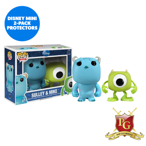 DISNEY MINI 2-PACK POP VINYL PROTECTOR