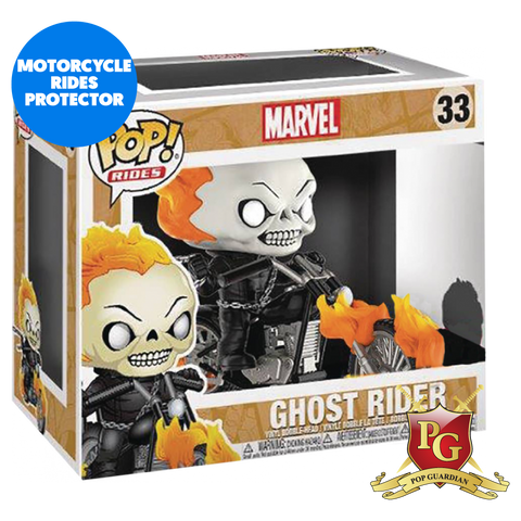 MOTORCYCLE RIDE POP PROTECTOR