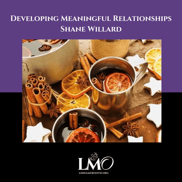 Developing Meaningful Relationships - Shane Willard