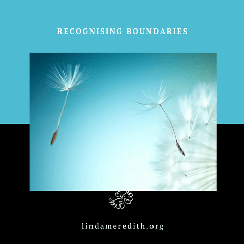 Recognising Boundaries