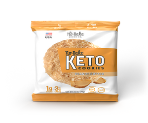 Peanut Butter KETO No-Bake Cookies