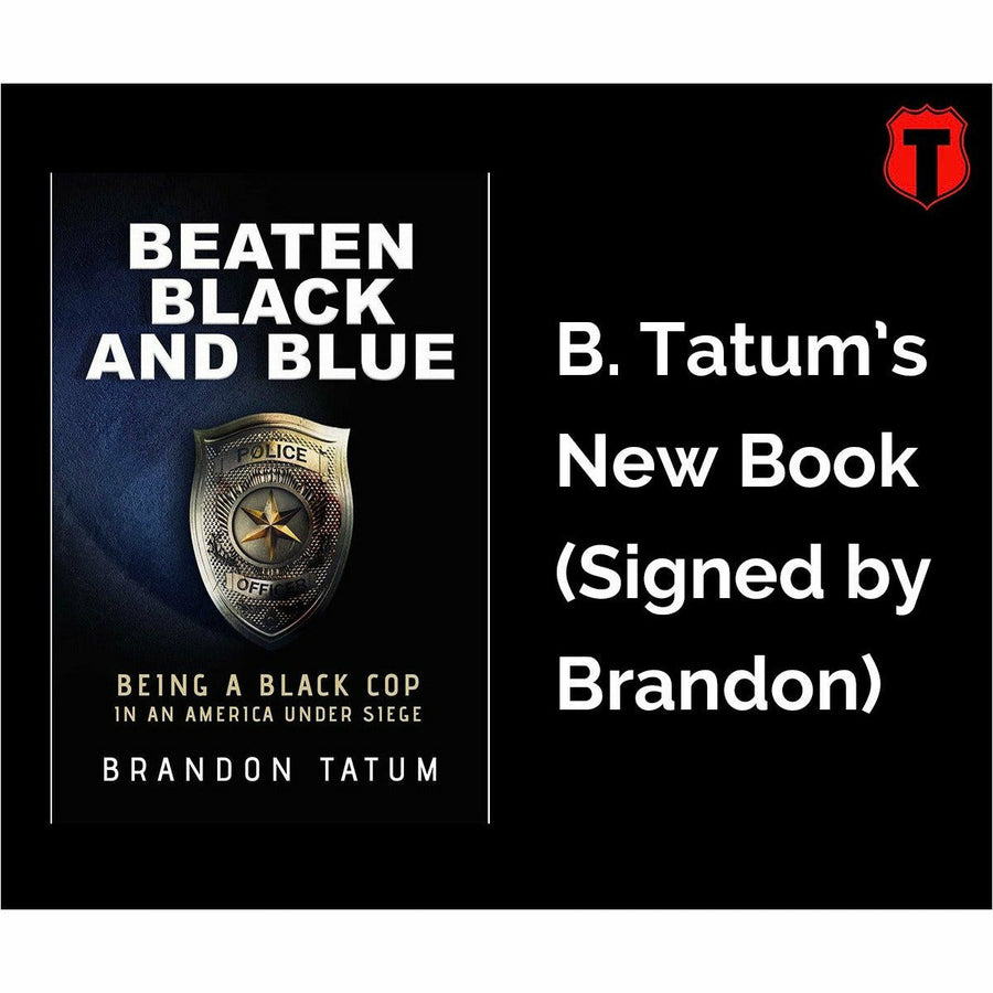 Beaten Black and Blue (Signed Copy) (Pre-Order)