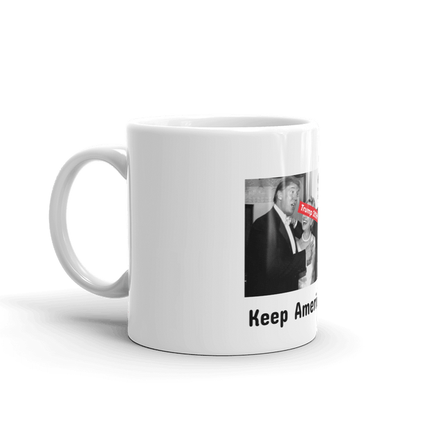 Trump 2020 mug ft. the Clintons