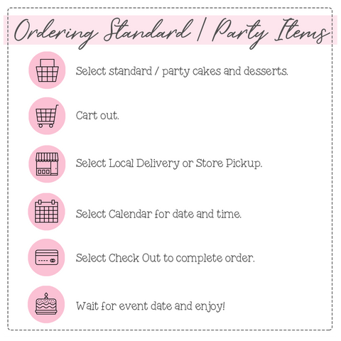 Ordering Process - Standard Items